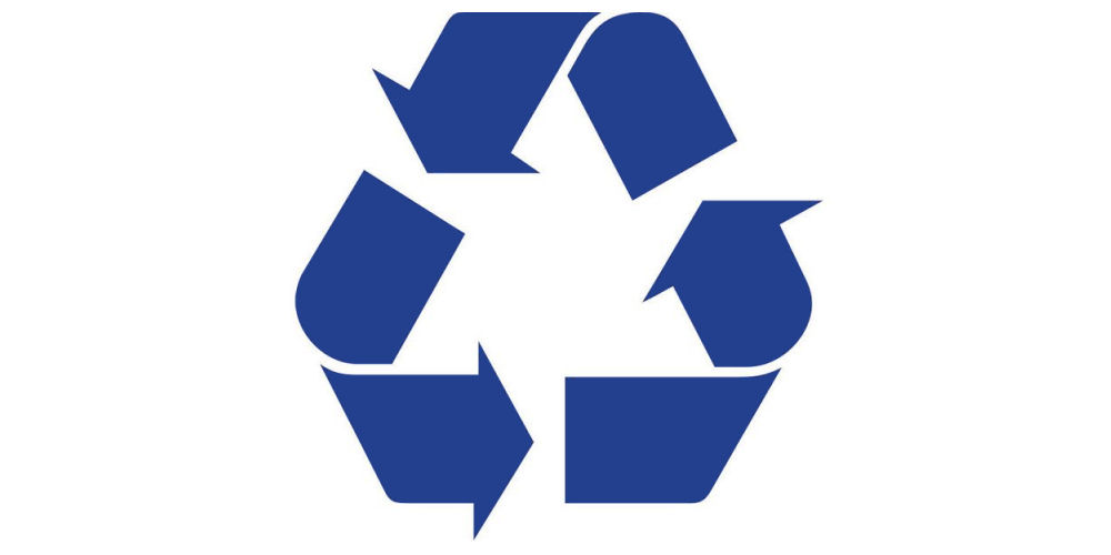 waste recycling logo